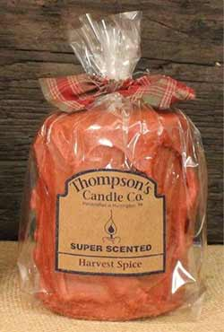 Harvest Spice Primitive Pillar Candle - Medium