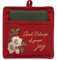 Good Tidings Pot Holder Set