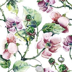 Wild Roses Luncheon Paper Napkins
