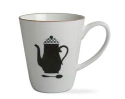 Coffee Addiction Mug - Black Percolator