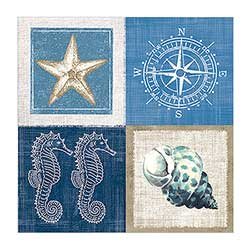 Sea Life Luncheon Paper Napkins