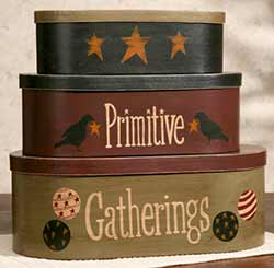 Primitive Gatherings Stacking Boxes (Set of 3)