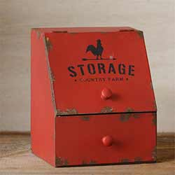 Country Farm Storage Bin