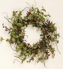 Herbs & Berries Wreath