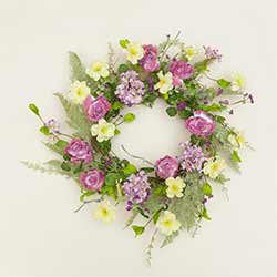 A Little Bit of Sunshine Floral Wreath