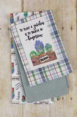 Plant a Garden Kitchen Towels (Set of 3)
