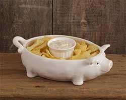 Pig Serving Bowl