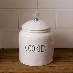 Simple Farmhouse Cookie Jar