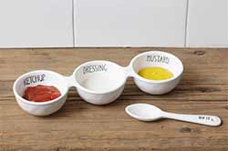 Simple Farmhouse Condiment Serving Set