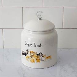 Doggie Treats Canister