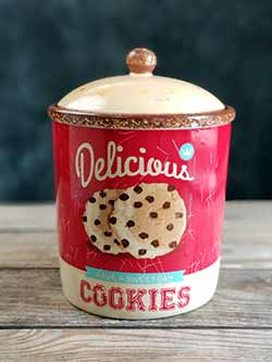 Retro Cookie Jar