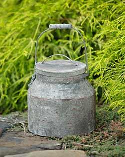 Rusty Milk Bucket