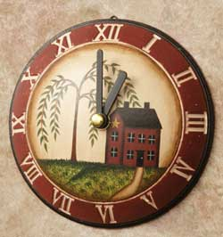 Primitive Home Clock (Small)