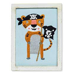 Pirate Tiger Wall Art