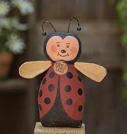 Little Ladybug Primitive Doll