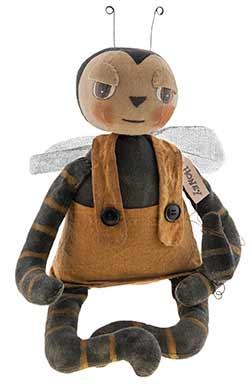 Primitive Bee Doll