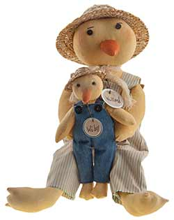 Father & Sun Duck Doll