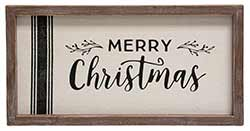 Merry Christmas Framed Sign