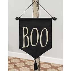 Boo Fabric Wall Hanging