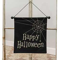 Happy Halloween Fabric Wall Hanging