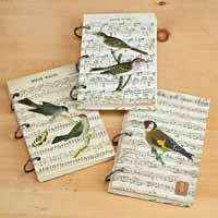 Bird Ring Bound Journal