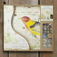 Bird Perpetual Calendar Set