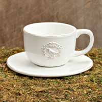 Bird & Crown Dinnerware - Cup and Saucer