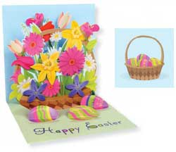 Spring Bouquet Pop-up Card
