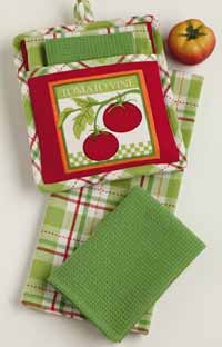 Garden Tomato Kitchen Gift Set
