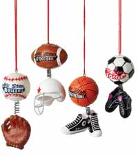 All Star Sports Ornament