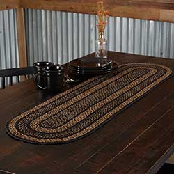 Farmhouse Braided 48 inch Table Runner