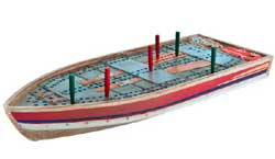 Tin Boat Cribbage Board