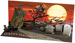 Up with Paper Wicked Witch - Sight & Sound Pop-up Card