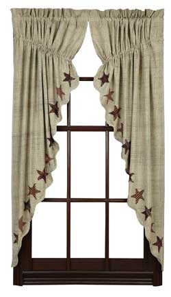 VHC Brands Abilene Star Prairie Curtain