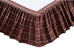 VHC Brands Abilene Bed Skirts (Multiple Size Options)