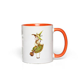 Autumn Witch Mug