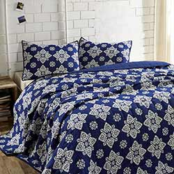 Adelaide Twilight Quilt Set (Multiple size options)
