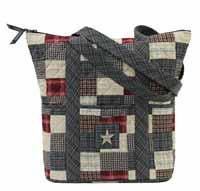 Victorian Heart America Getaway Quilted Handbag