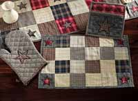 America Tablerunner - Patchwork (36 inch)
