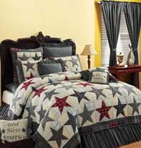 Victorian Heart America Quilt - Luxury King