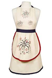 Victorian Heart American Parade Apron