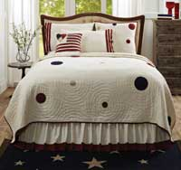 American Parade Quilt - Luxury King