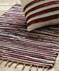 American Parade Chindi Rug