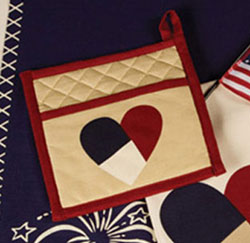 American Parade Pot Holder