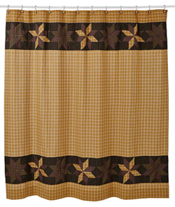 VHC Brands (Victorian Heart) Amherst Shower Curtain