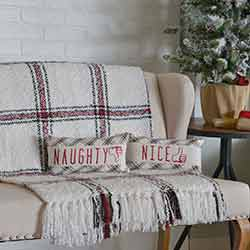 Amory Naughty and Nice Pillow (Set of 2)