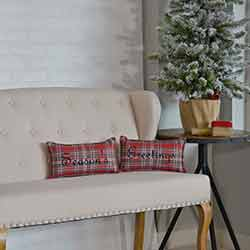 Anderson Seasons Greetings Pillow (Set of 2)