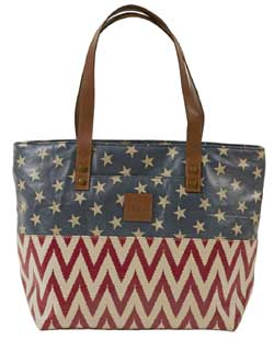 Antebellum Canvas Shoulder Tote