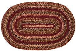 Apple Cider Oval Jute Rug (Multiple Size Options)
