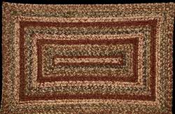 Apple Cider Rectangle Jute Rug - 20 x 30 inch